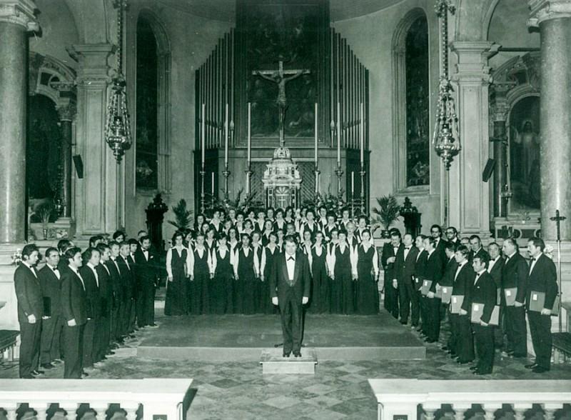 Coro Sante Zanon - 1964 coro in Chiesa