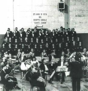 Coro Sante Zanon - 25esimo Chiesa Votiva - 1989
