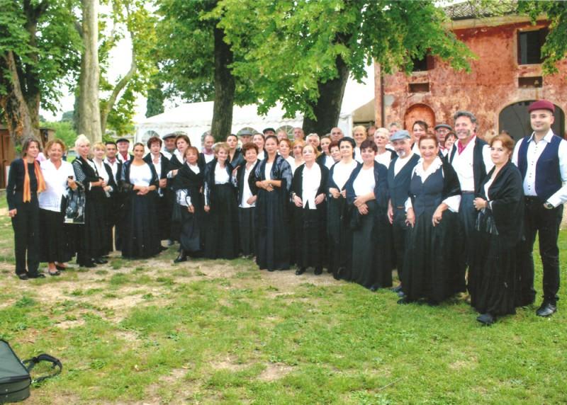 Coro Sante Zanon -  Concerto a Villa Vassermann - Cavalleria Rustinaca