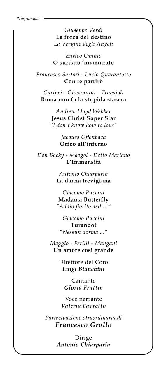 Coro Sante Zanon - Concerto Teatro Eden