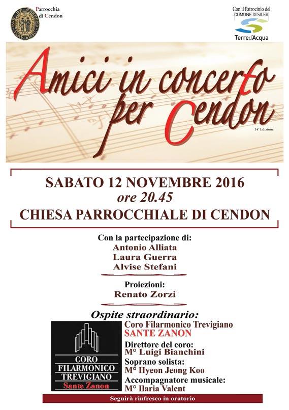 Coro Sante Zanon - Concerto Cendon