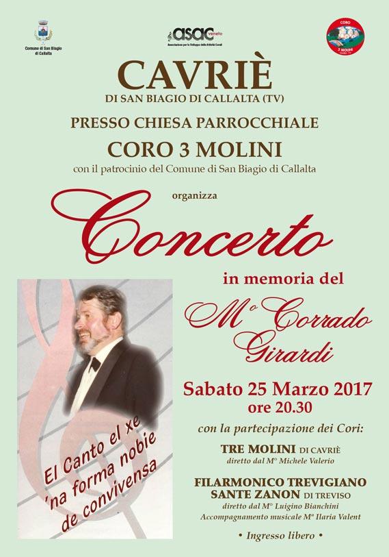 Coro Sante Zanon - Cavrie 25 marzo 2017
