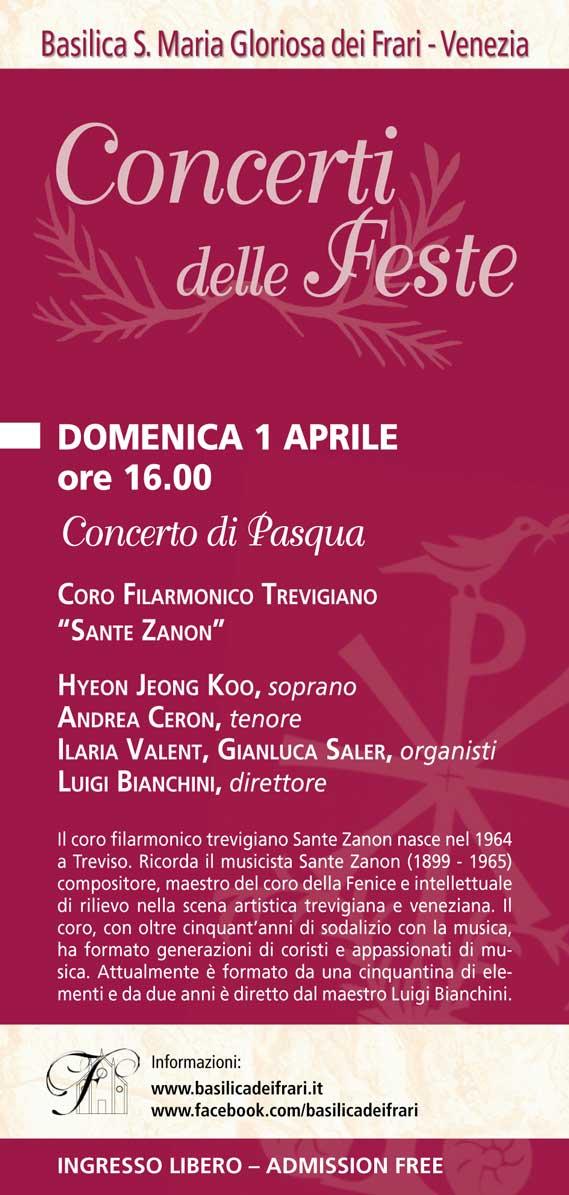 Coro Sante Zanon - Concerto Pasqua 2018