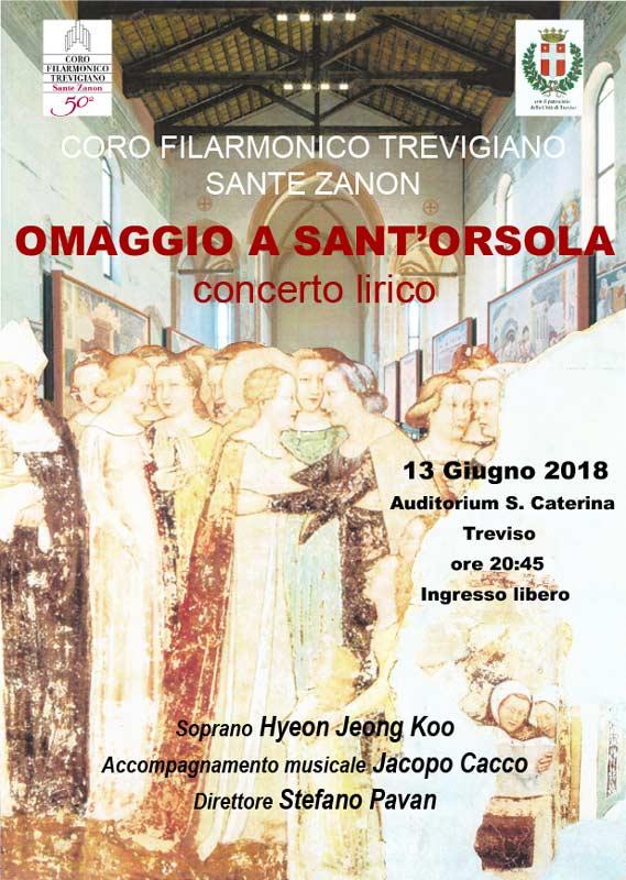 Coro Sante Zanon - Concerto Lirico Omaggio-a-Sant Orsola 3 giugno 2018